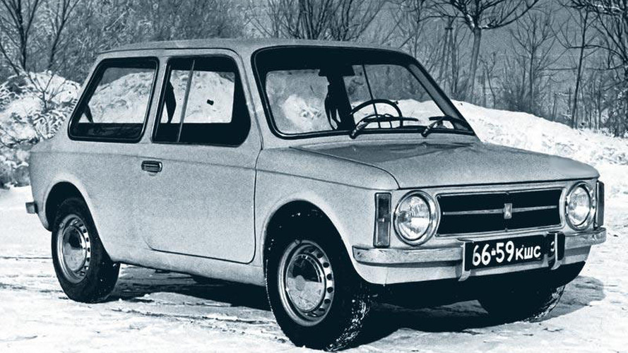 Soviet Cars Were Weird: The unborn Lada 1101
