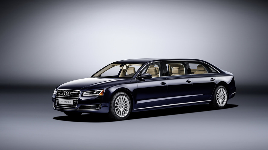 Audi stretches A8 L even further for six-door one-off