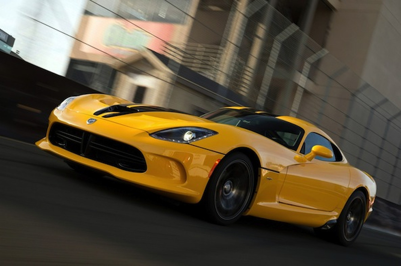 2014 SRT Viper ACR May be Limited by Ferrari, Chevrolet
