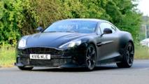 2017 Aston Martin Vanquish S spy shots