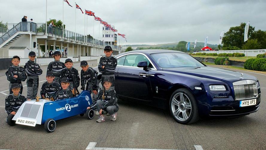 Rolls-Royce unveils their March 2 Glory race car