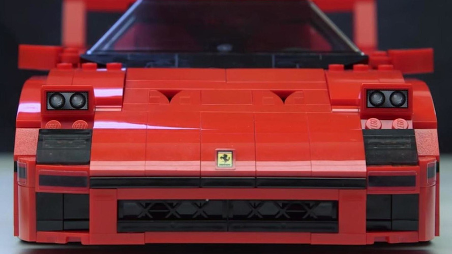 Lego shows off their Ferrari F40 [video]