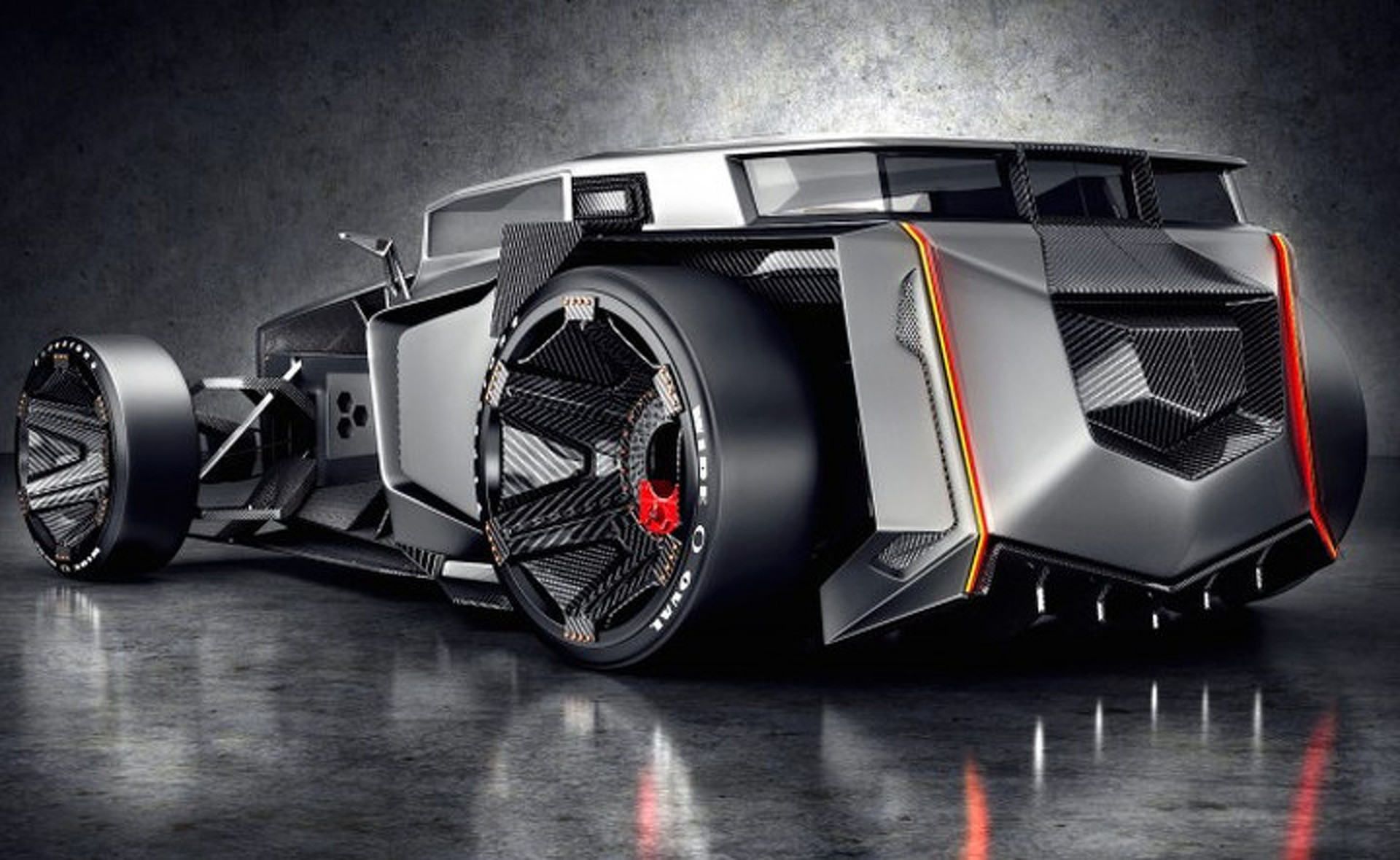 Lamborghini Rat Rod Blends The Best Of Old And New W Video