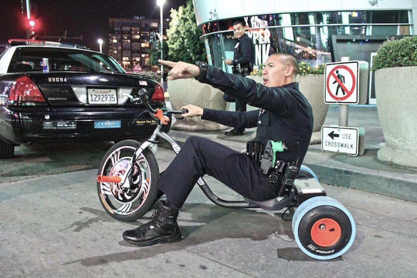 Looks Like the LAPD Loves the Local Motors Drift Trike