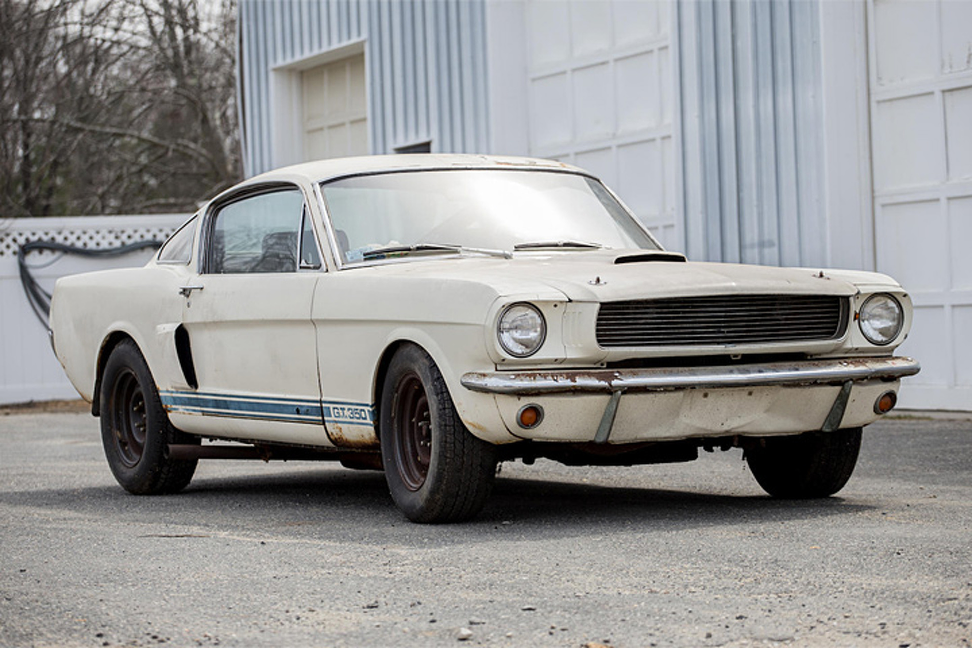 Shelby gt350 barn find is a true 60s time capsule