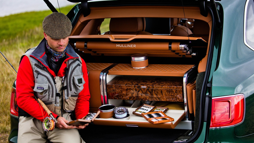 Bentley Bentayga gets custom fly fishing version by Mulliner