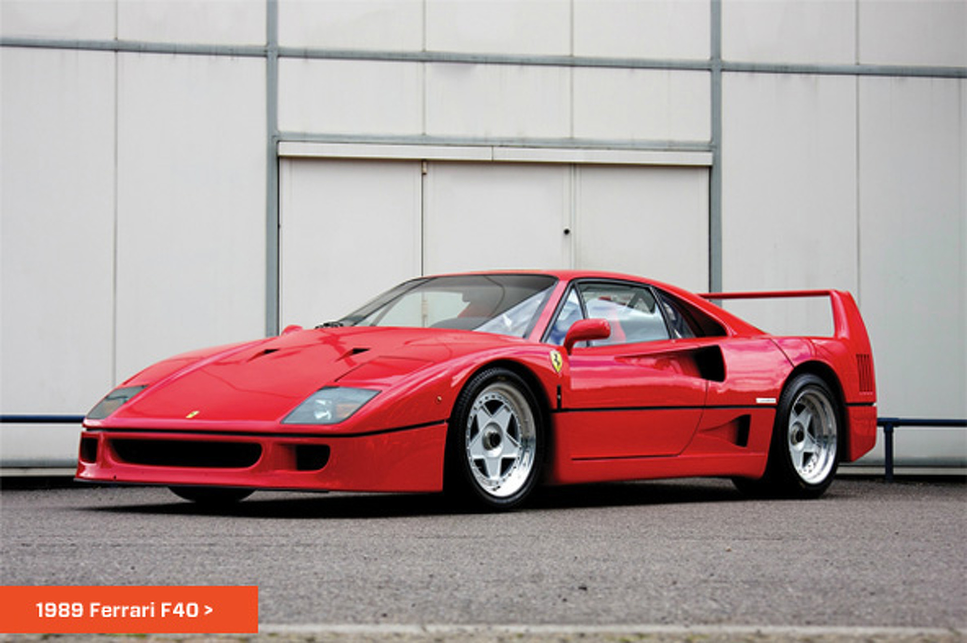 The List Top 5 Ferraris
