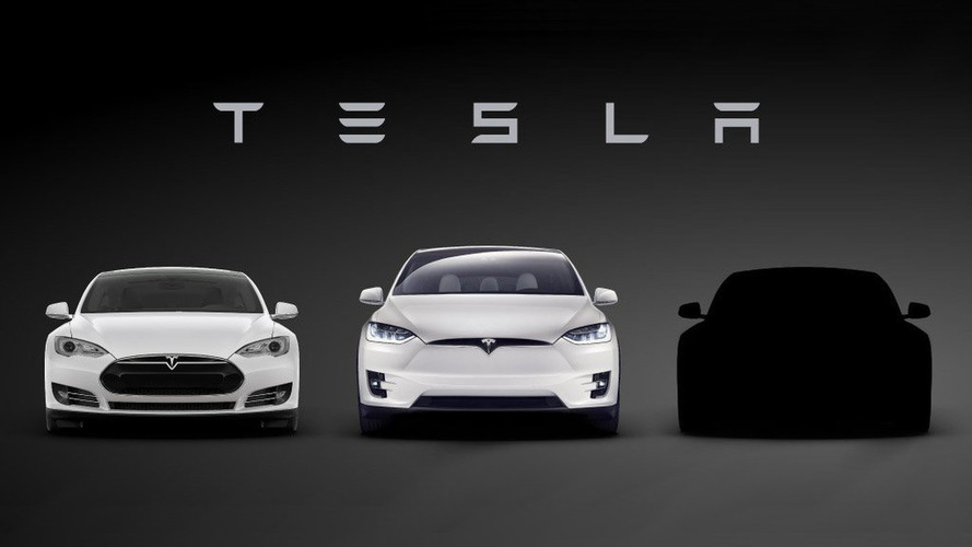Tesla Model 3 teased, debuts on March 31st