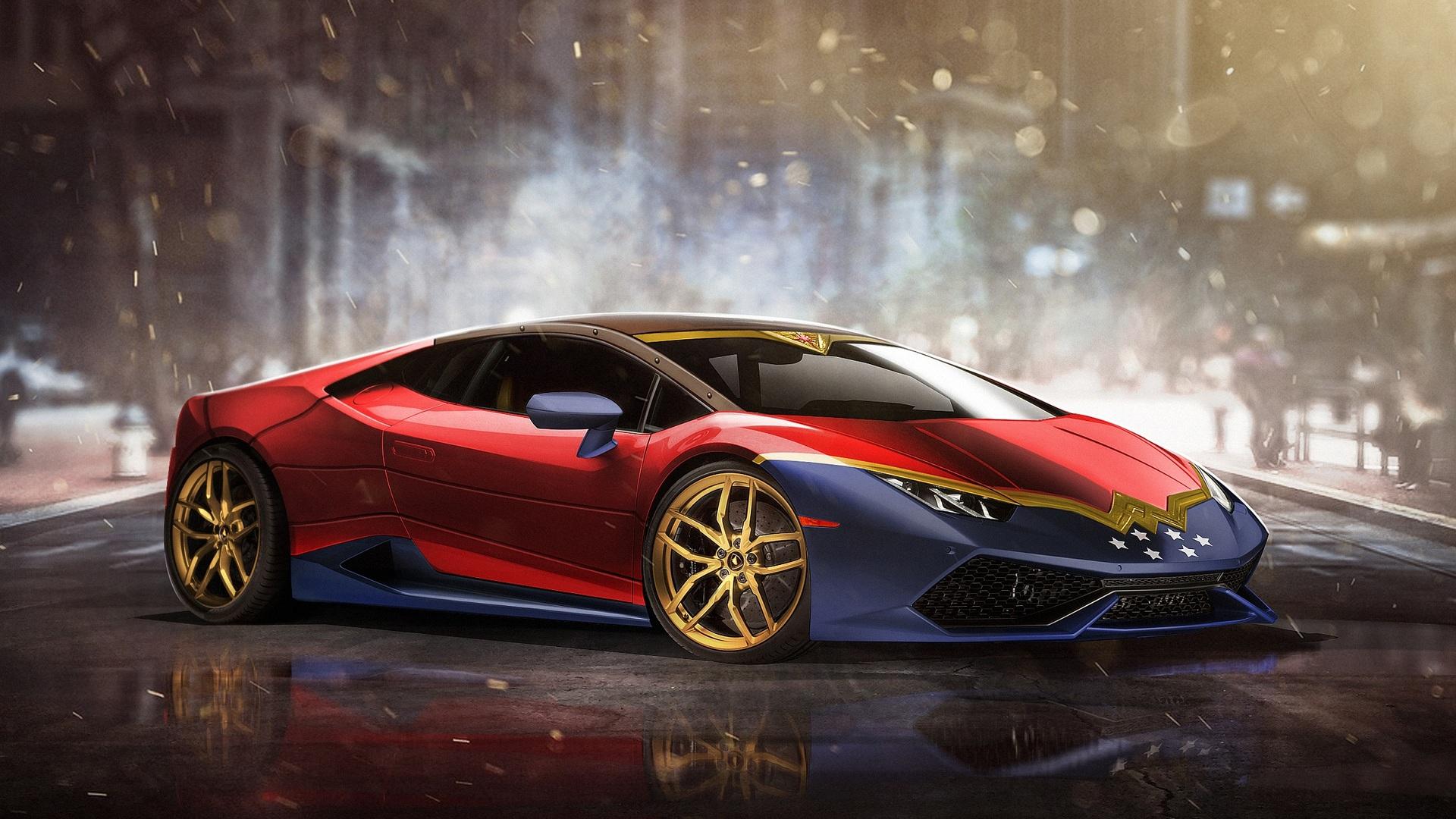 Wonder Woman Lamborghini Huracan Motor1 Com Photos