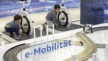 VW e-Carreratrack at The Transparent Factory