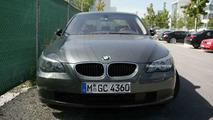 BMW 5 Series testing new inline turbo engine