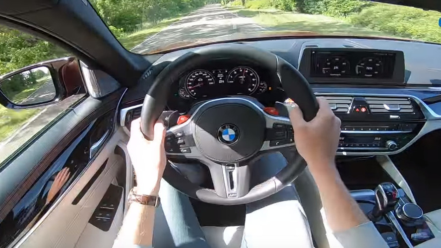Hop Inside The BMW M5 First Edition And Go For A Ride