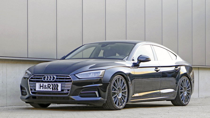 Höhenverstellbare Federsysteme für den Audi A5 Sportback