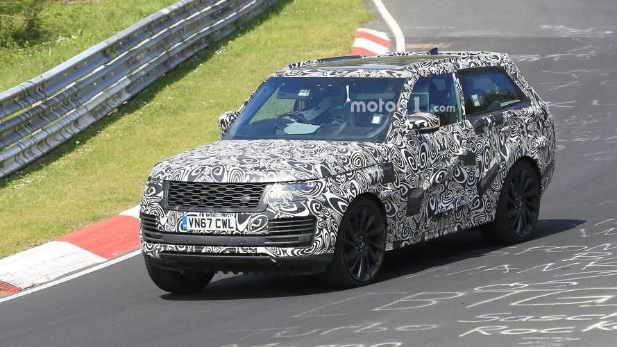 Range Rover SV Coupe prototipi Nürburgring'de göründü