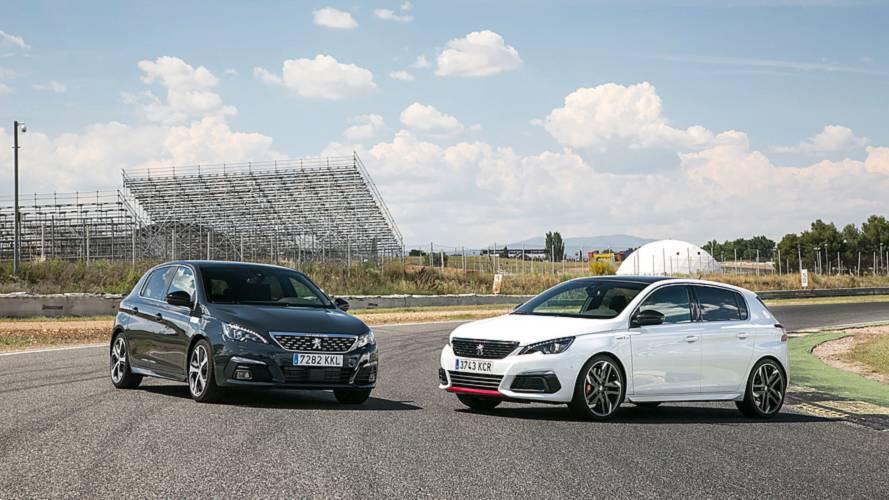 Prueba Peugeot 308 GT y  GTi 2018: un coche, dos filosofías