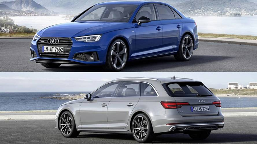 2019 Audi A4 Sedan, Avant Unveiled In Europe With Discreet Changes