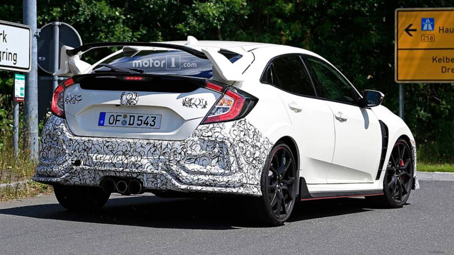 Honda Civic 2018 Facelift >> Honda Civic Type R Facelift Spied But What Is It Hiding Update