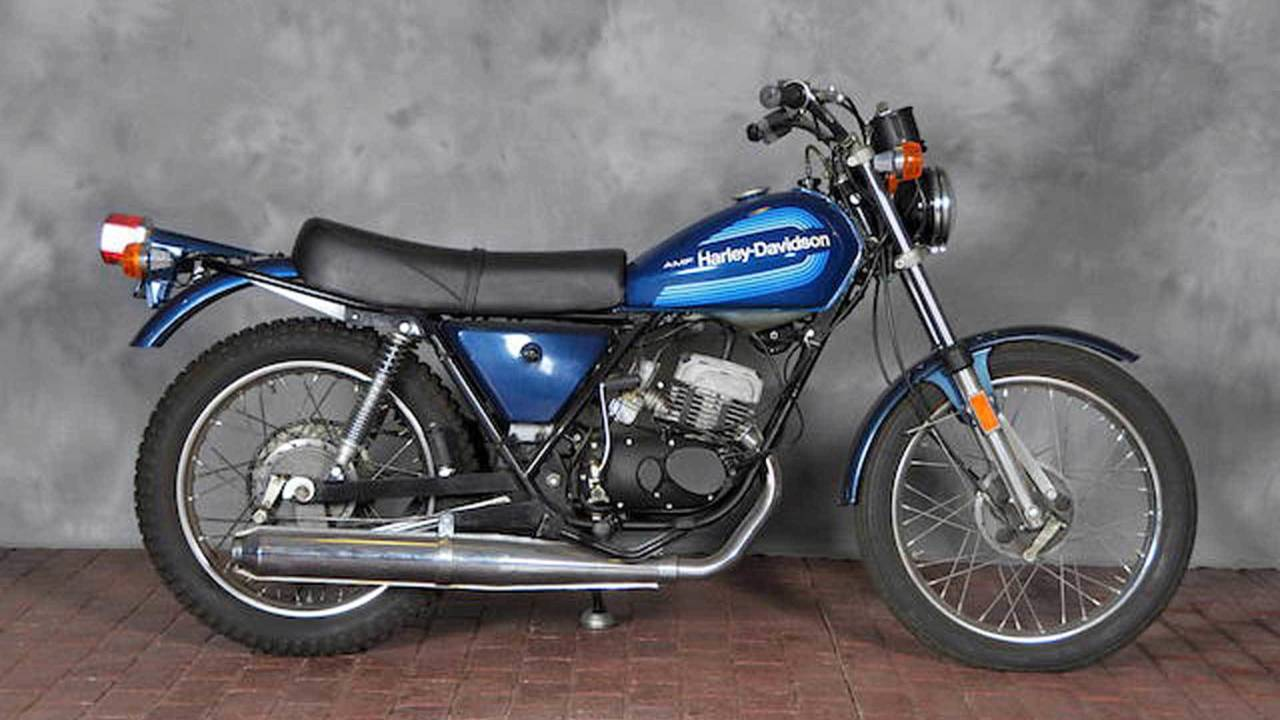 The Coolest Small Displacement Bikes Harley Ever Made 1970 Davidson Sportster Ss125