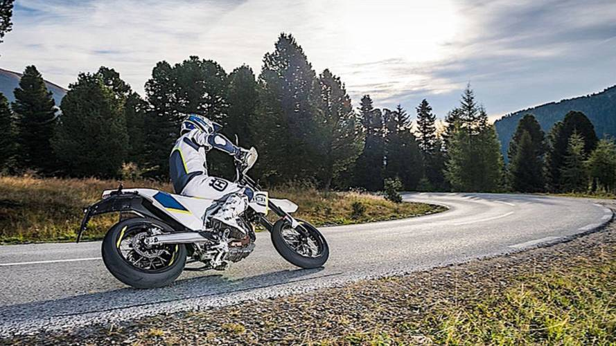 Win a Husqvarna Supermoto Ride
