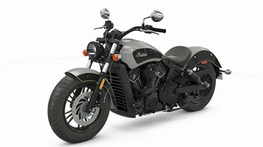Indian Scout Sixty Gets Two-Tone Paint