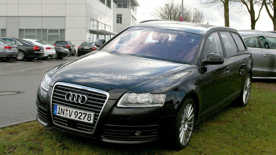 Audi A6 Facelift First Spy Photos