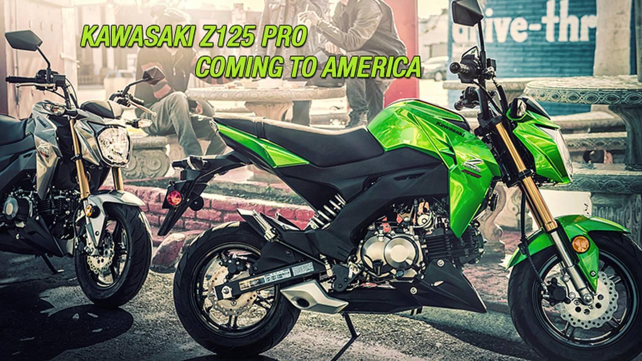 KAWASAKI Z125 PRO - COMING TO AMERICA