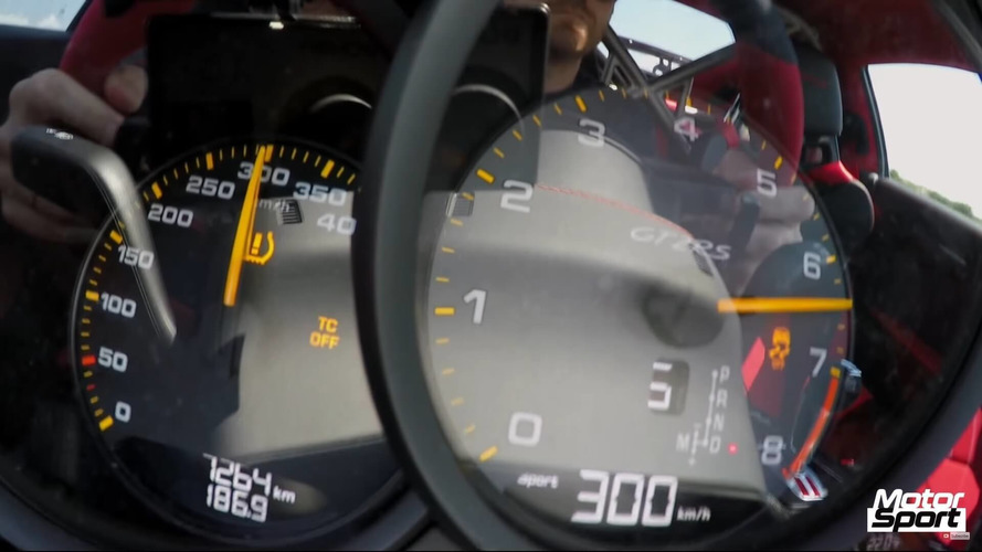 See The New Porsche 911 GT2 RS Go From 0 To 186 MPH