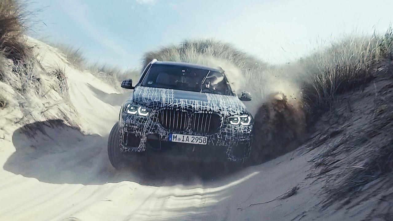Nuova BMW X5, foto dei collaudi dal Sud Africa