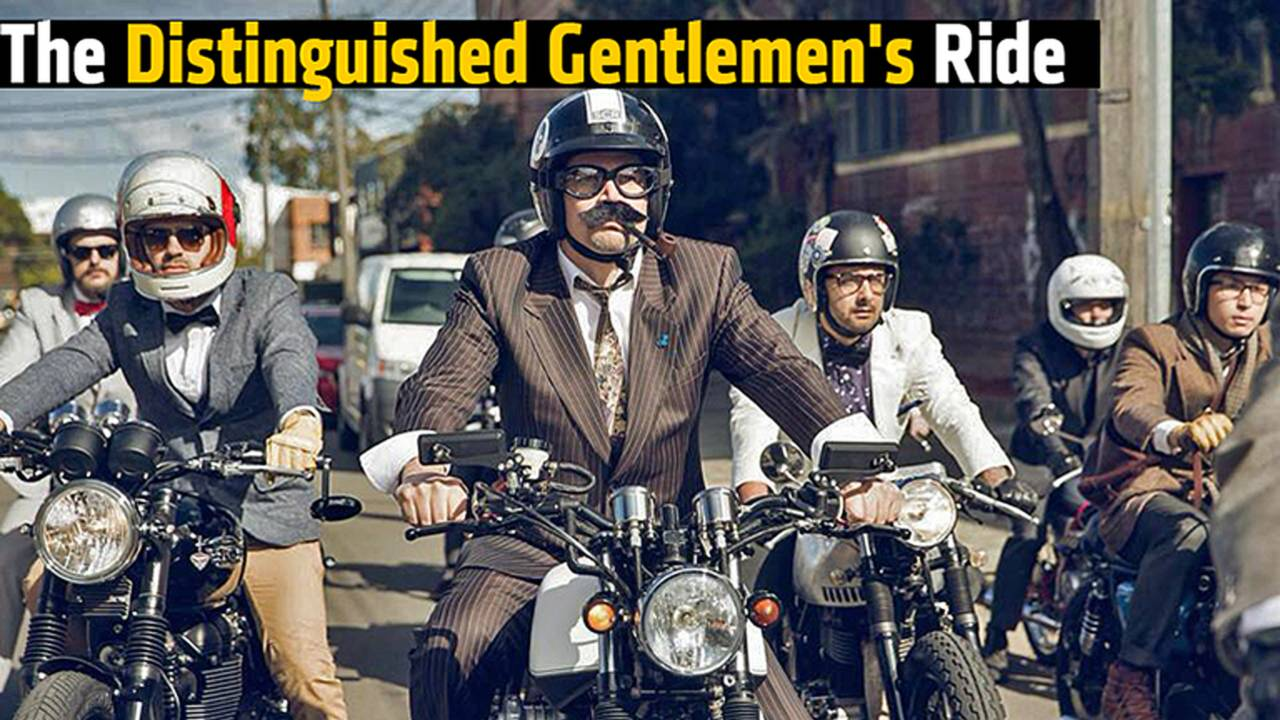This Weekend! The Distinguished Gentlemen's Ride