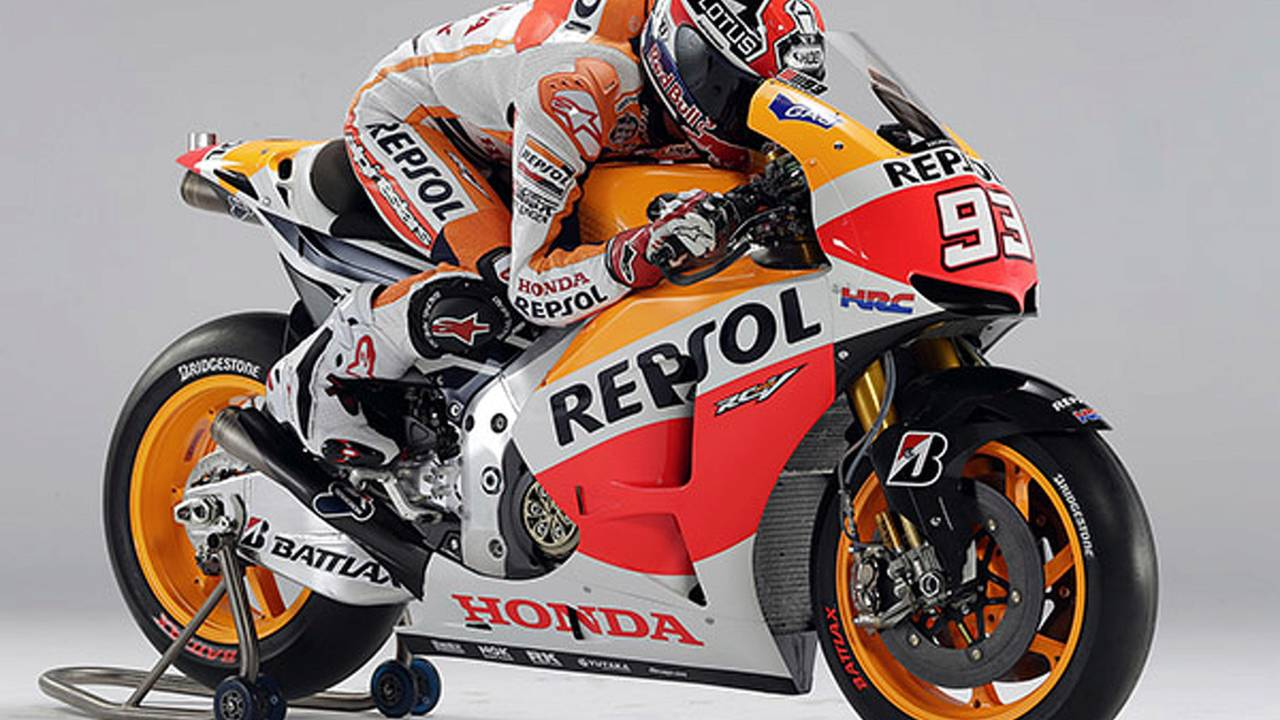 This is the 2013 Honda RC213V