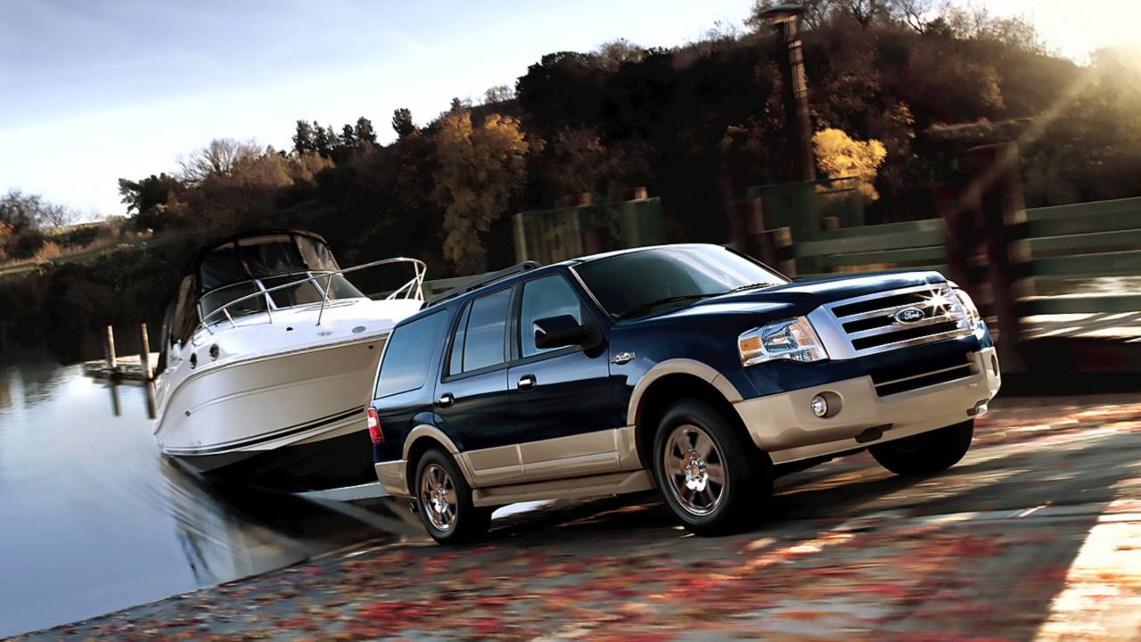 9. Ford Expedition – 13,112 miles