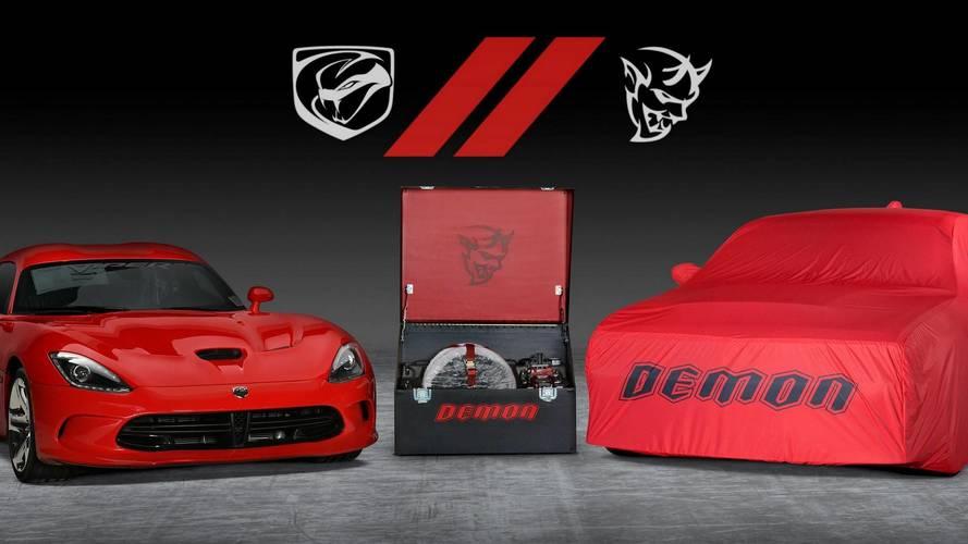Dodge va vendre les dernières Viper et Demon aux enchères