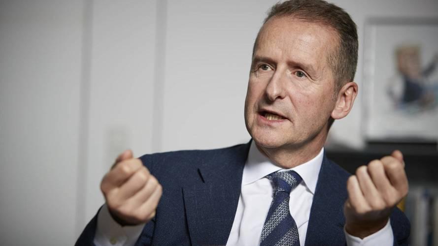 Yeni VW CEO'su Diess, firmayı Dieselgate öncesi uyarmış
