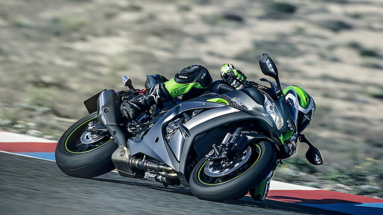 Ninja ZX-10R Gets Electronic Suspension