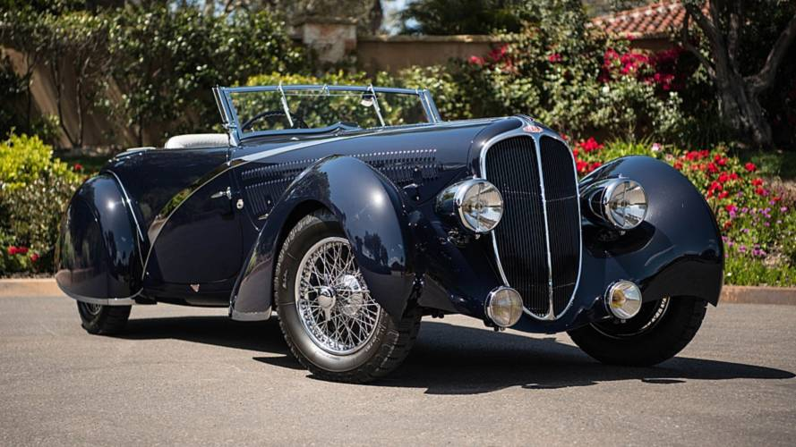 Ultra-rare Delahaye 135 Competition asks a whopping £19 million