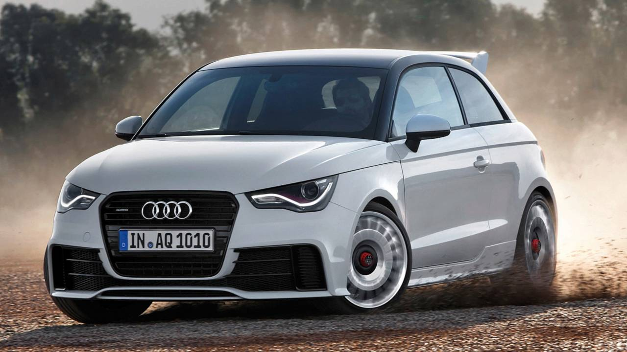 Watch 380 Horsepower Audi A1 Quattro By Mtm Furiously Accelerate