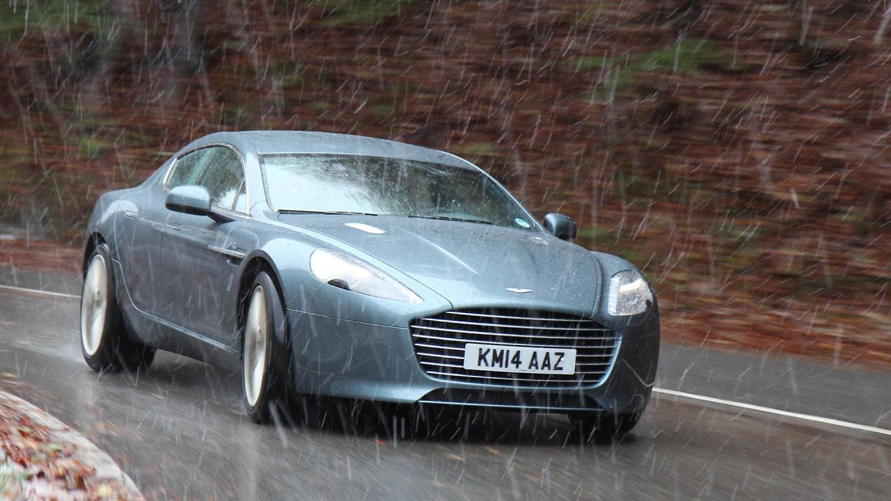 Platz 12: Aston Martin Rapide S; Leistung: 560 PS