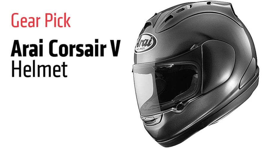 Gear Pick: Arai Corsair V Helmet