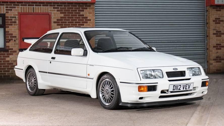 La toute première Ford Sierra RS500 Cosworth aux enchères