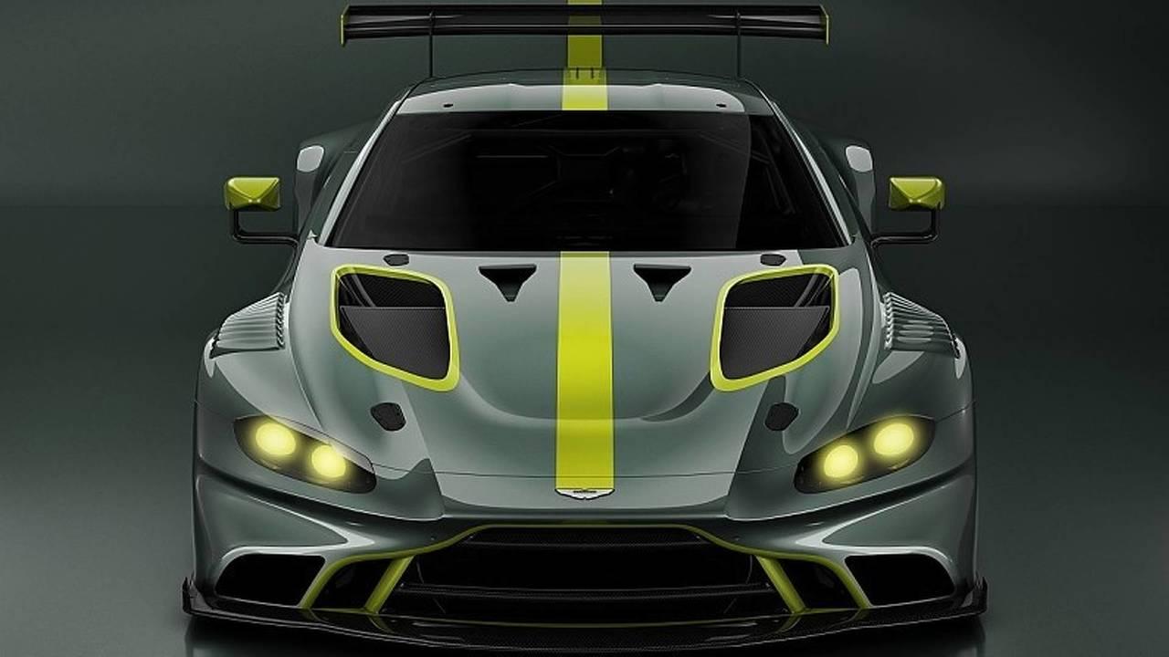 2019 Aston Martin Vantage GT3 Render