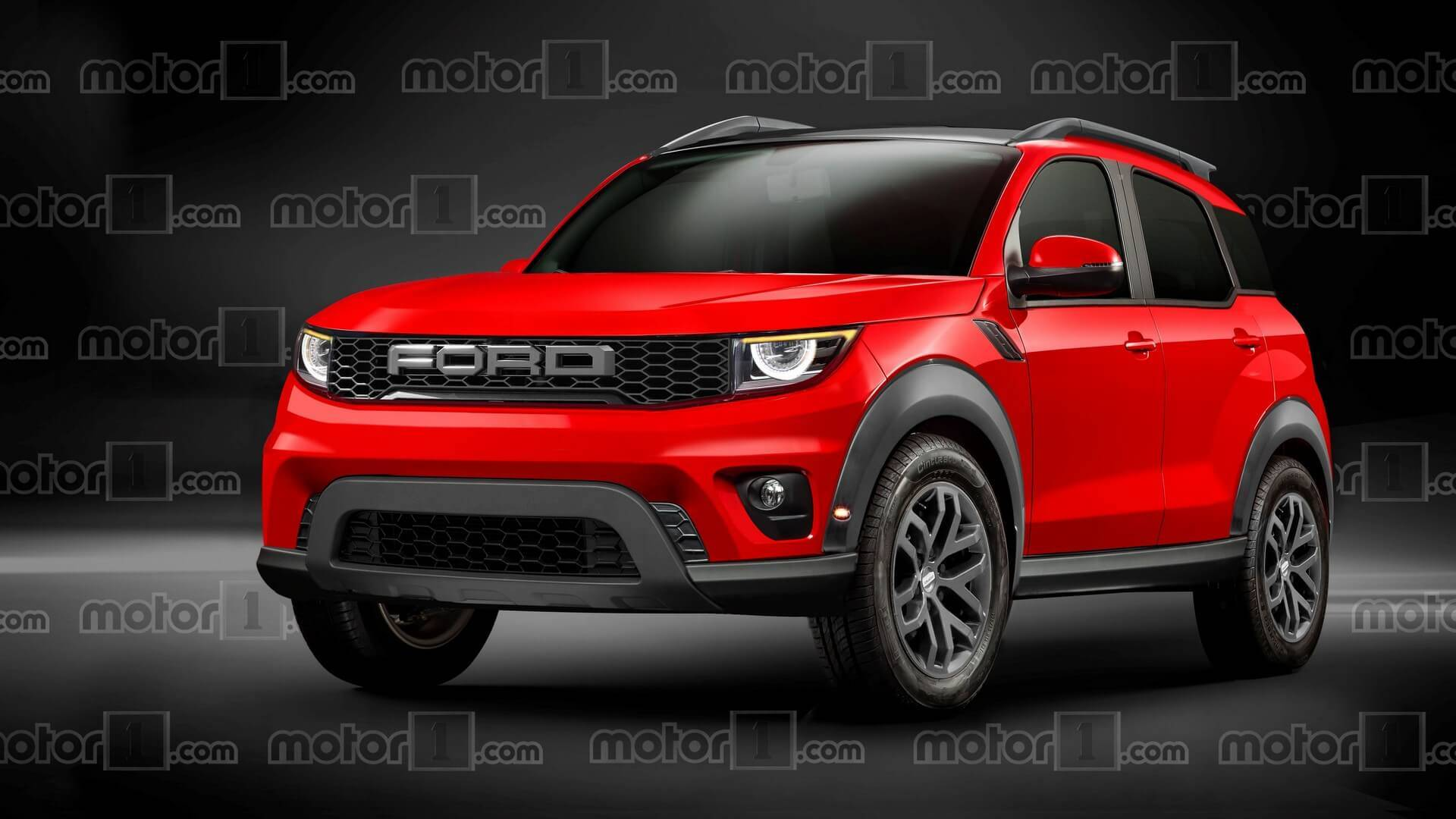 Ford Baby Bronco Rendered Ready To Take On Jeep