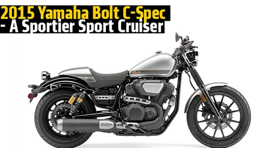 2015 Yamaha Bolt C-Spec - A Sportier Sport Cruiser