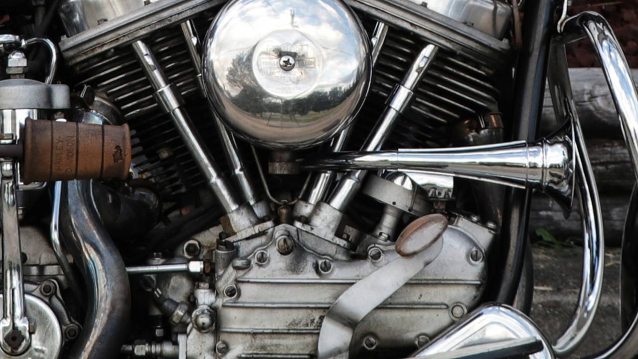 Harley-Davidson produced the Panhead engine from 1948 - 1965.