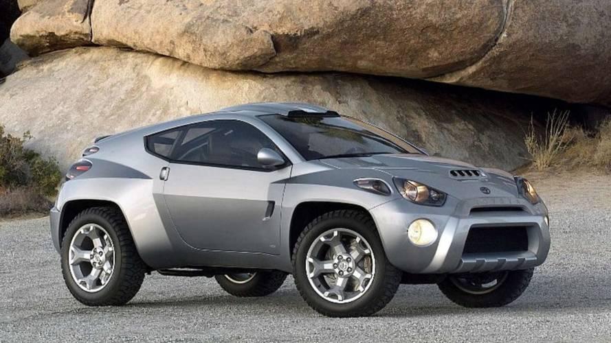 Toyota RSC concept, il SUV che sognava i rally