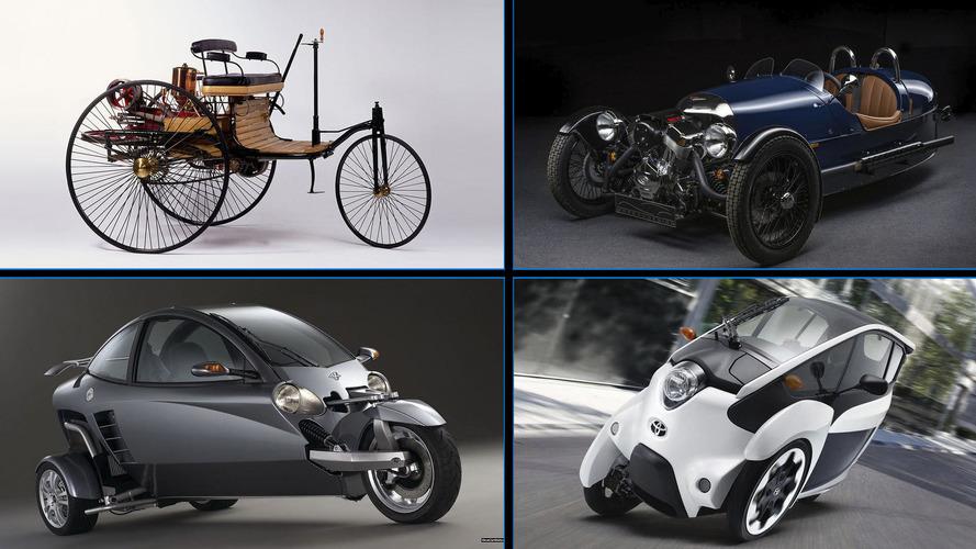 10 coches con tres ruedas que no sabías que existían