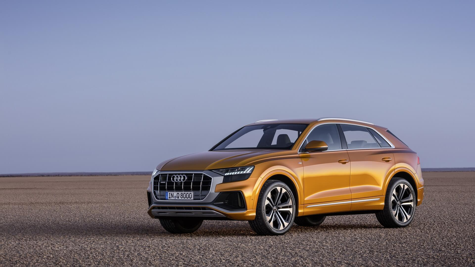 2019 Audi Q8 Priced From 67400 With Mild Hybrid V6 Power