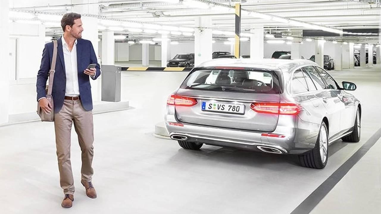 Car valet parking Bosch e.go