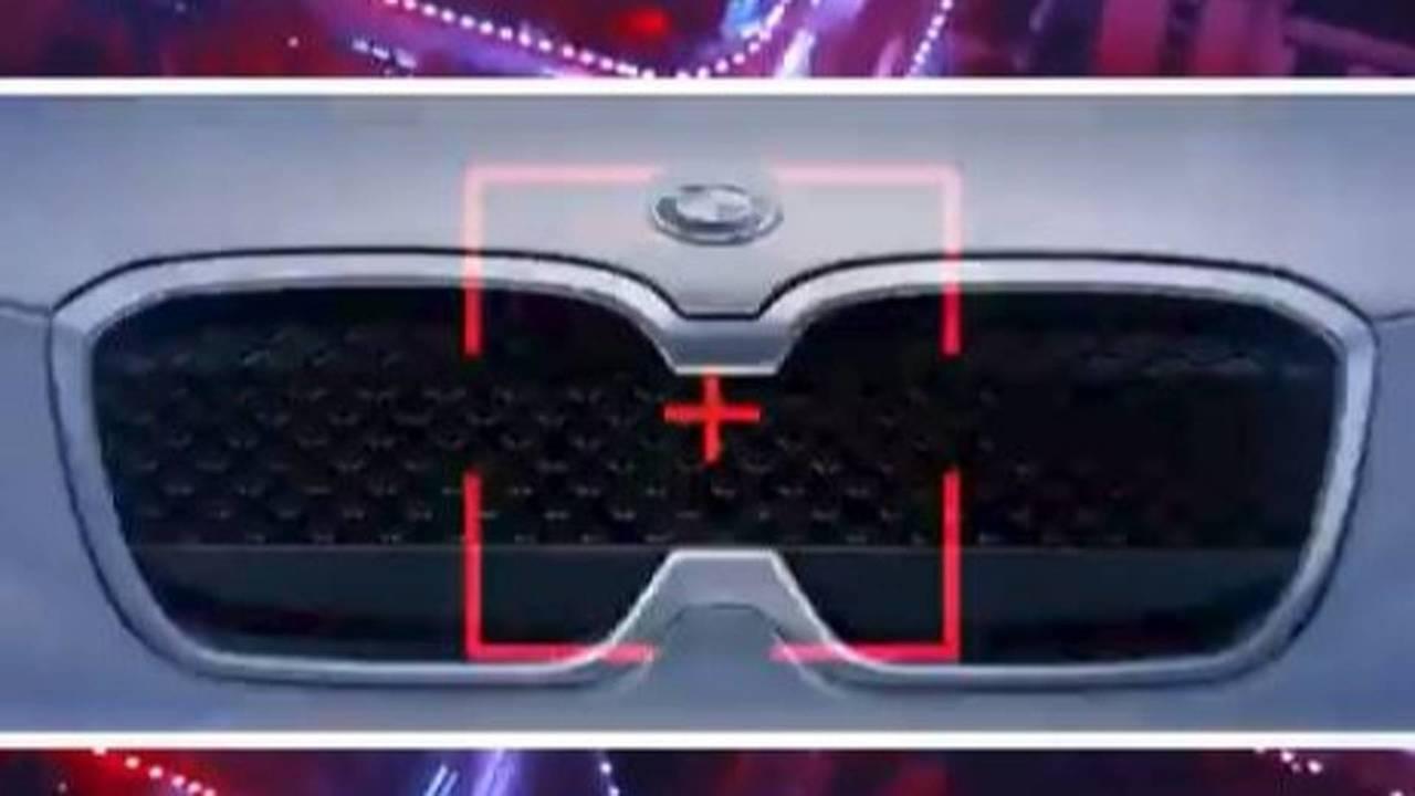 BMW ix3 concept teaser