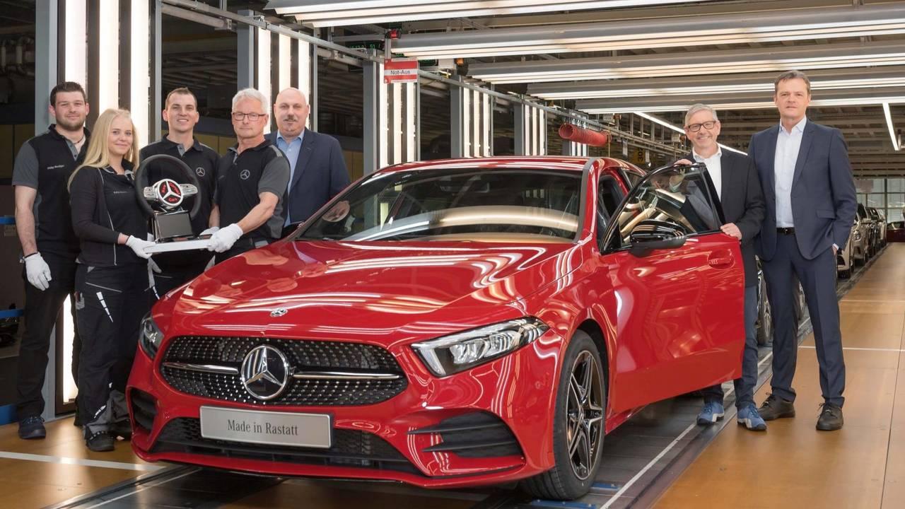 Mercedes-Benz A-osztály gyártása
