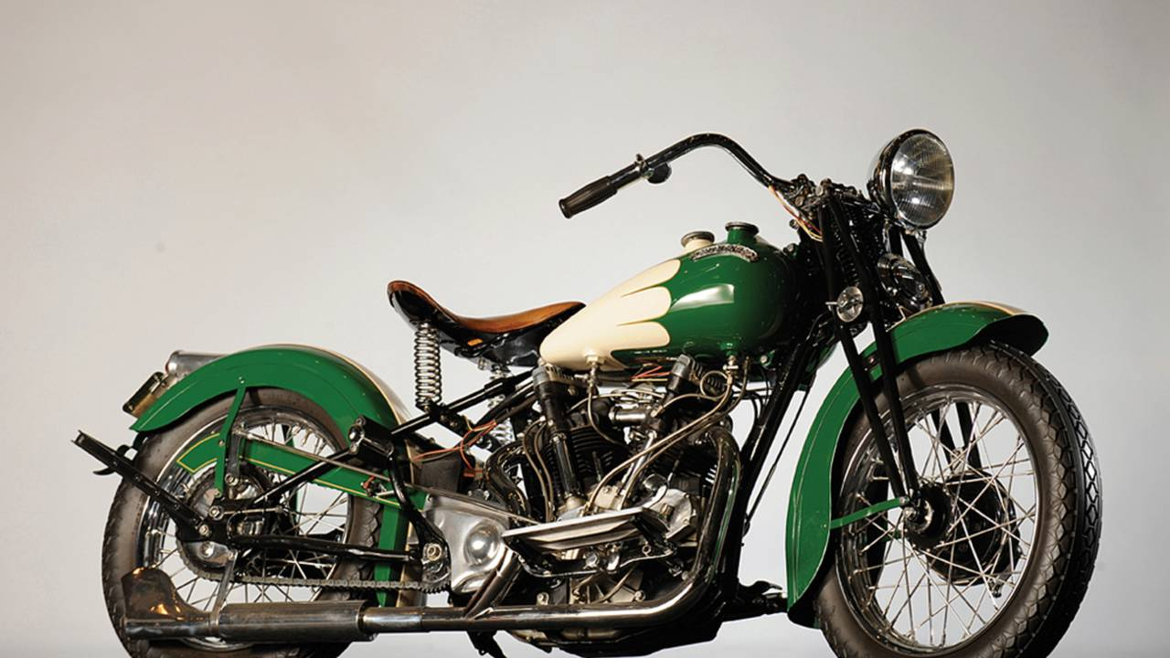 1939 Crocker Big Tank V-Twin. Photo by Simon Clay, courtesy of RM Sotheby's.